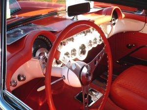 Old Cars Guide 1957 Corvette