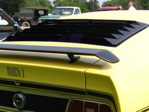 Image gallery 1972 mach 1 louvers for 1970 mustang rear window louvers